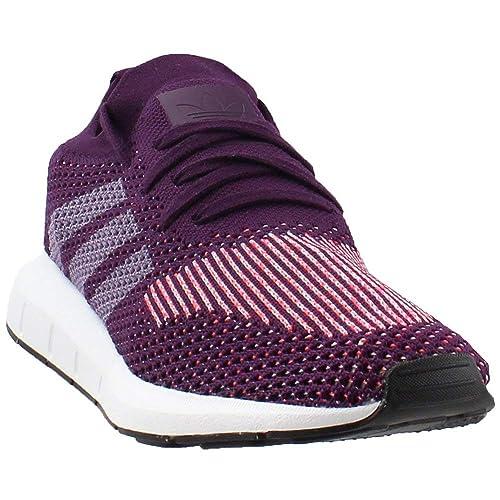 3aa68286ca6e8 Adidas Women s Swift Run Primeknit Red Knit CQ2035 (Size  6)  Amazon ...