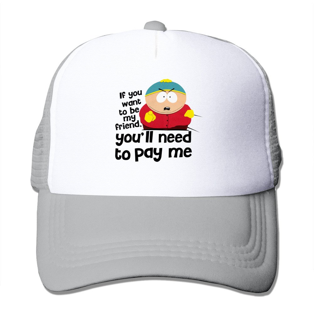 South Park Cartman You ll Need To Pay Me Snapback Hats Adjustable Caps Army  Hat Apparel 0a70a4b106ba