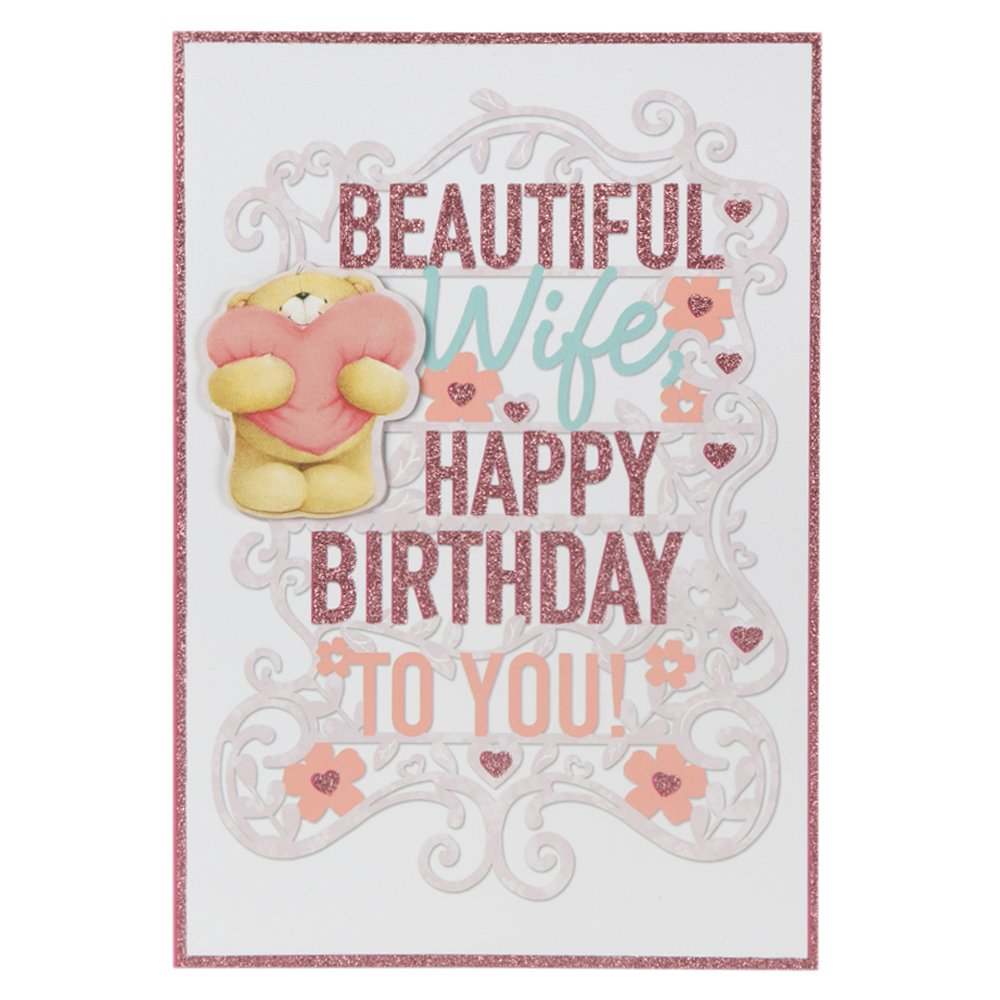 Amazon Hallmark Forever Friends My Beautiful Wife 3d Birthday