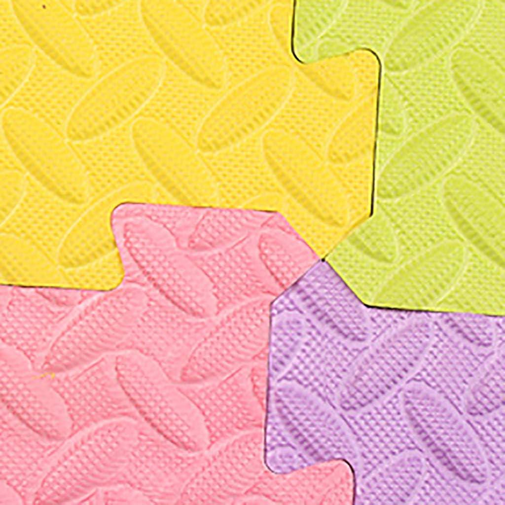 Leichter Aufbau hautfreundlich beliebig erweiterbar wasserabweisend A 30x30x1.2cm//16 Sheet schalld/ämmend ZXPYZ Puzzlematten Vorteile: rutschfest sto/ßd/ämmend schmutzabweisend