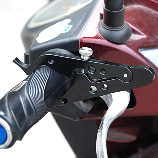 Ailova Motorrad Tempomat Griff Halterung Universal Gasgriff Klemme Assist Aluminium Motorradzubehör Auto