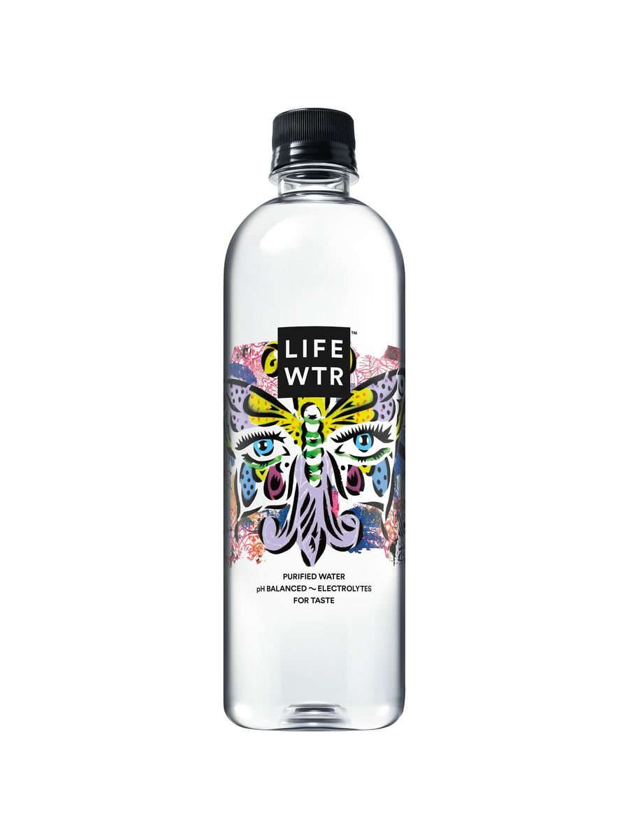 LIFEWTR, Premium Purified Water, pH Balanced with Electrolytes For Taste, 20 ounce bottles (Pack of 24) by LIFEWTR