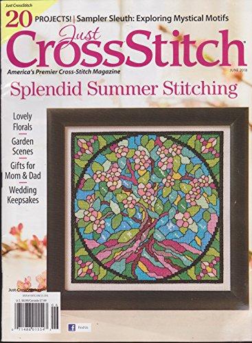 Just Cross Stitch Magazine June 2018