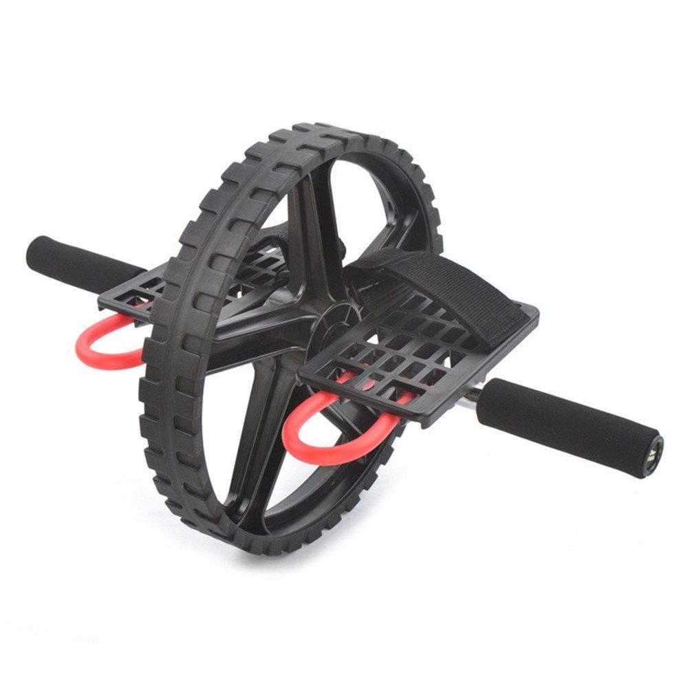 Aszhdfihas Abdominal Wheel Abdominal Wheel Riesige Fitness Roller Mute AB Gewichtsverlust Fitness Ausrüstung für Heim Fitnessstudio