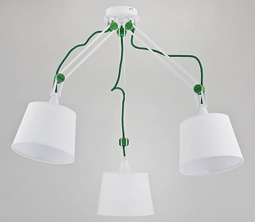 Ajustables - Lámpara de techo con 3 brazos 3 articulado de ...