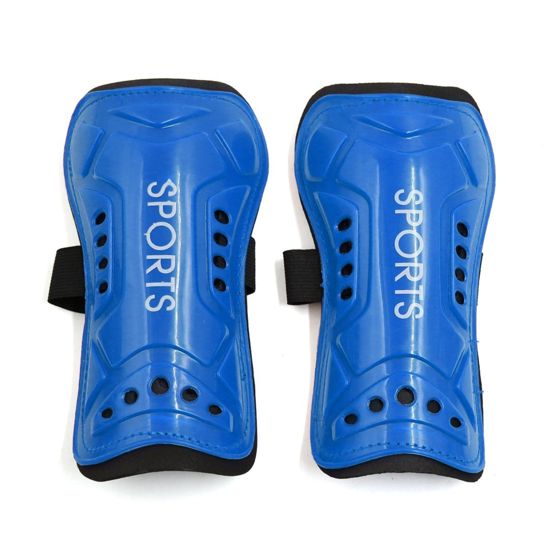 Vi.yo 1Paar, Fußball, Hockey, Fußball-mit Protektoren Shin Pads Vi.yo 1Paar Fußball blau 19.2cmX9.8cm