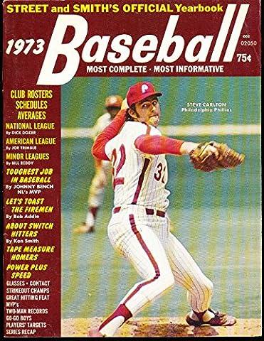 1973 Street amp; Smith Baseball Yearbook Steve Carlton - 1973 Baseball