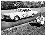 1964 Plymouth Richard Petty 43 Auto Photo Poster Facsimile Signature