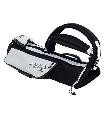 feb8145d0d38 Amazon.com : NEW 2013 Ping Moonlite Sunday Carry Bag BLACK/WHITE ...