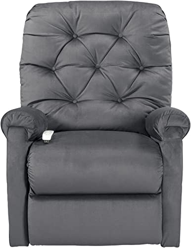 Mega Motion Classica Power Lift Chair Recliner- Charcoal Curbside Delivery
