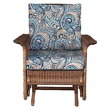 Outdoor Patio Deep Seat Chair Cushion Set Seasonal Replacement Cushions  20 1/2u0026quot;