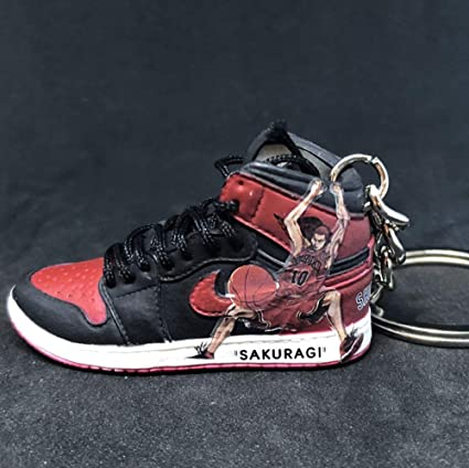 super popular e3b29 20429 Amazon.com: Air Jordan 1 I High Bred Retro x Slam Dunk Anime ...