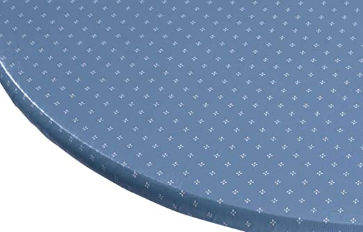 Miles Kimball Original Elasticized Vinyl Table Cover with Fleece Backing in 3