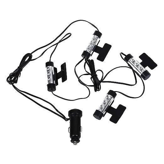 77 opinioni per 4 LUCI LAMPADE 3 LED BLU ACCENDISIGARI PER INTERNO AUTO