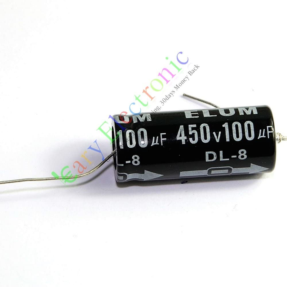 MIEC Qty 14 16UF 450V 105C New Axial Electrolytic Capacitors