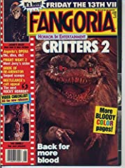 """Fangoria Magazine #74 - June 1988 - This issue includes the following articles: Reviews of """"Fright Night - Part 2"""", """"Lady in White"""", etc., Dario Argento - """"Opera"""", """"The Chair"""", """"Critters II"""", Michael Biehn - """"Aliens"""", """"Terminator"""", etc., """"Bee..."""