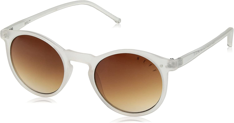 neff Unisex-Adult Brut Shades Round Sunglasses