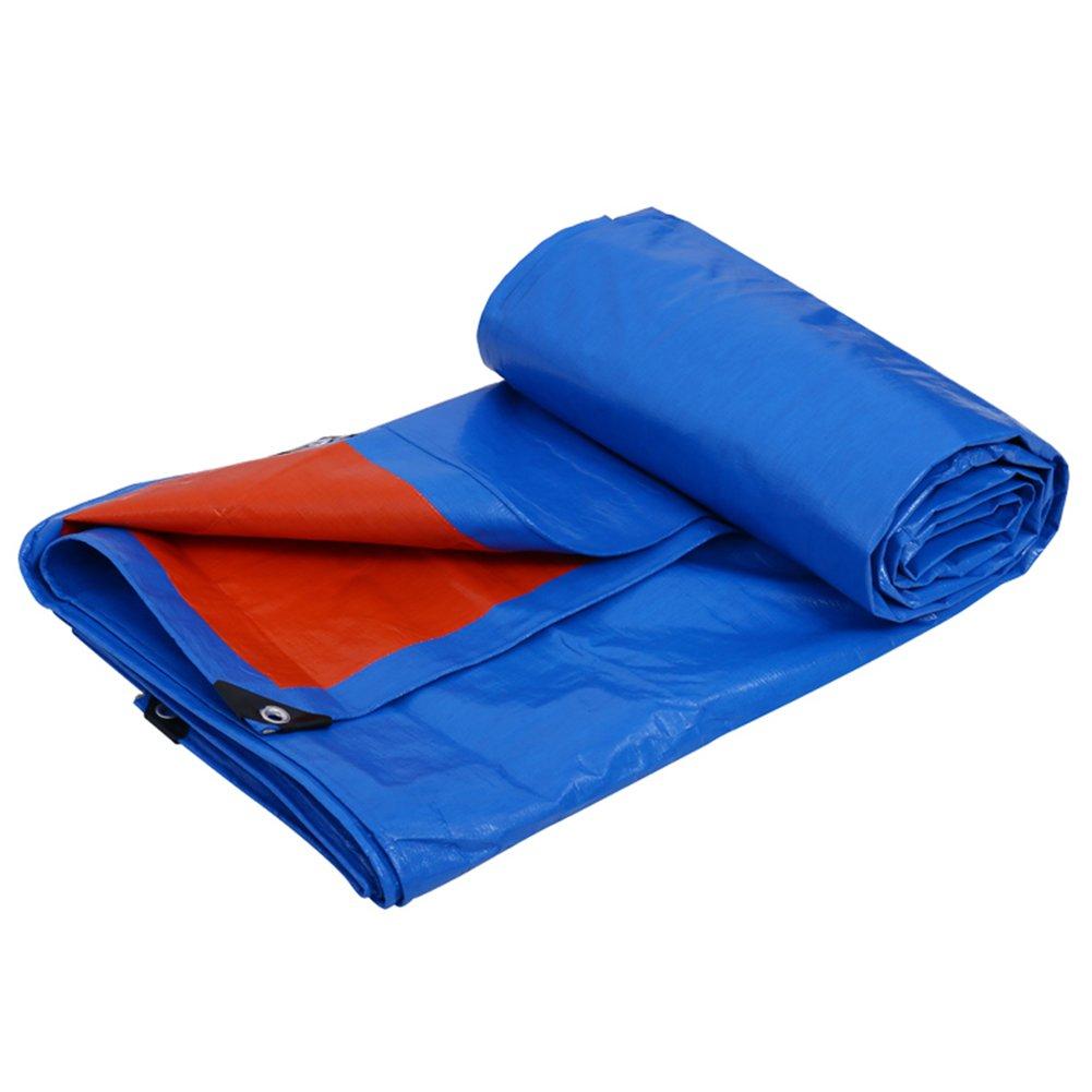 CHAOXIANG オーニング 厚い 折りたたみ可能 両面 防水 日焼け止め 防風 防塵の 耐摩耗性 耐寒性 耐食性 PE 3色、 150g/m 2、 厚さ 0.32mm、 10サイズ (色 : オレンジ, サイズ さいず : 2x3m) B07DC7CGR4 2x3m|オレンジ オレンジ 2x3m