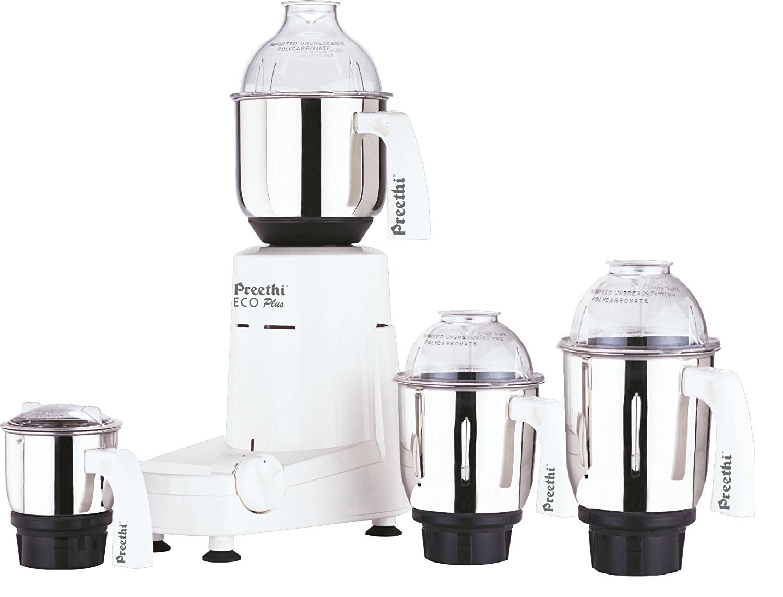 Preethi Eco Plus 4 Jar Mixer Grinder 110 Volts by Preethi