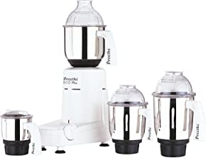 Preethi Eco Plus 4 Jar Mixer Grinder 110 Volts