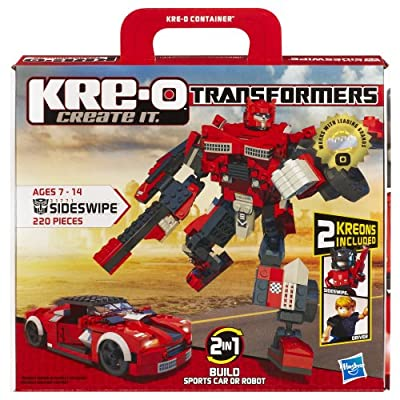 KRE-O Transformers Sideswipe Construction Set (31771): Toys & Games