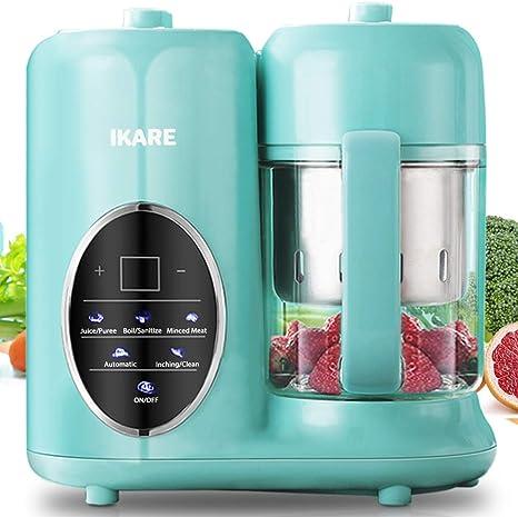 IKARE Robot de Cocina Bebé- 8 en 1 Procesador de Alimentos Bebes con tanque de agua