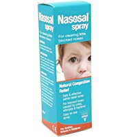 Nasosal Children's Saline Nasal Spray Clearing Congested Nasal for Baby, Infant and Children 15ml