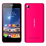 EASYSMX Leagoo Lead 6 Smart Phone Android 4.4.2 MTK Dual-Core Processer 4.5 inch IPS Display 1600 mAh Lithium Battery Dual Camera 2G/3G Dual SIM Standby (Rose)