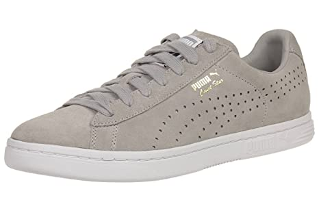 Puma Court Star SD Suede Sneaker Men Trainers grey 364581 02, pointure:eur 42.5