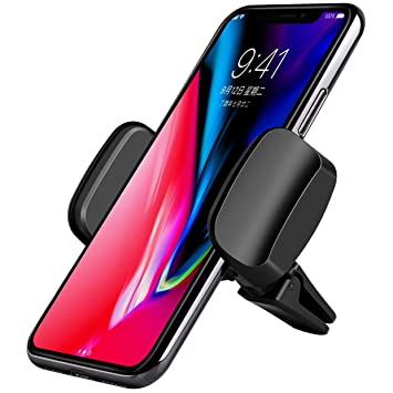 Akedre Cell Phone Holder For Car 360 Rotation Universal Air Vent Car Phone Mount For Iphone X Iphone 8 7 7 Plus Samsung Galaxy S7 S6 Edge S8 S9 And