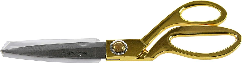 HOME-X Heavy-Duty Sewing Scissors, Sew Kit Supplies, Fabric Cutting Seamstress Scissors