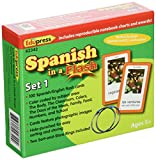 Edupress Spanish in a Flash Cards Set 1 (EP62342)