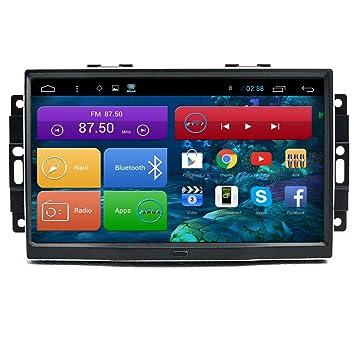 Generic 22,86 cm pantalla táctil capacitiva Android 4.4.4 Coche GPS navegación estéreo