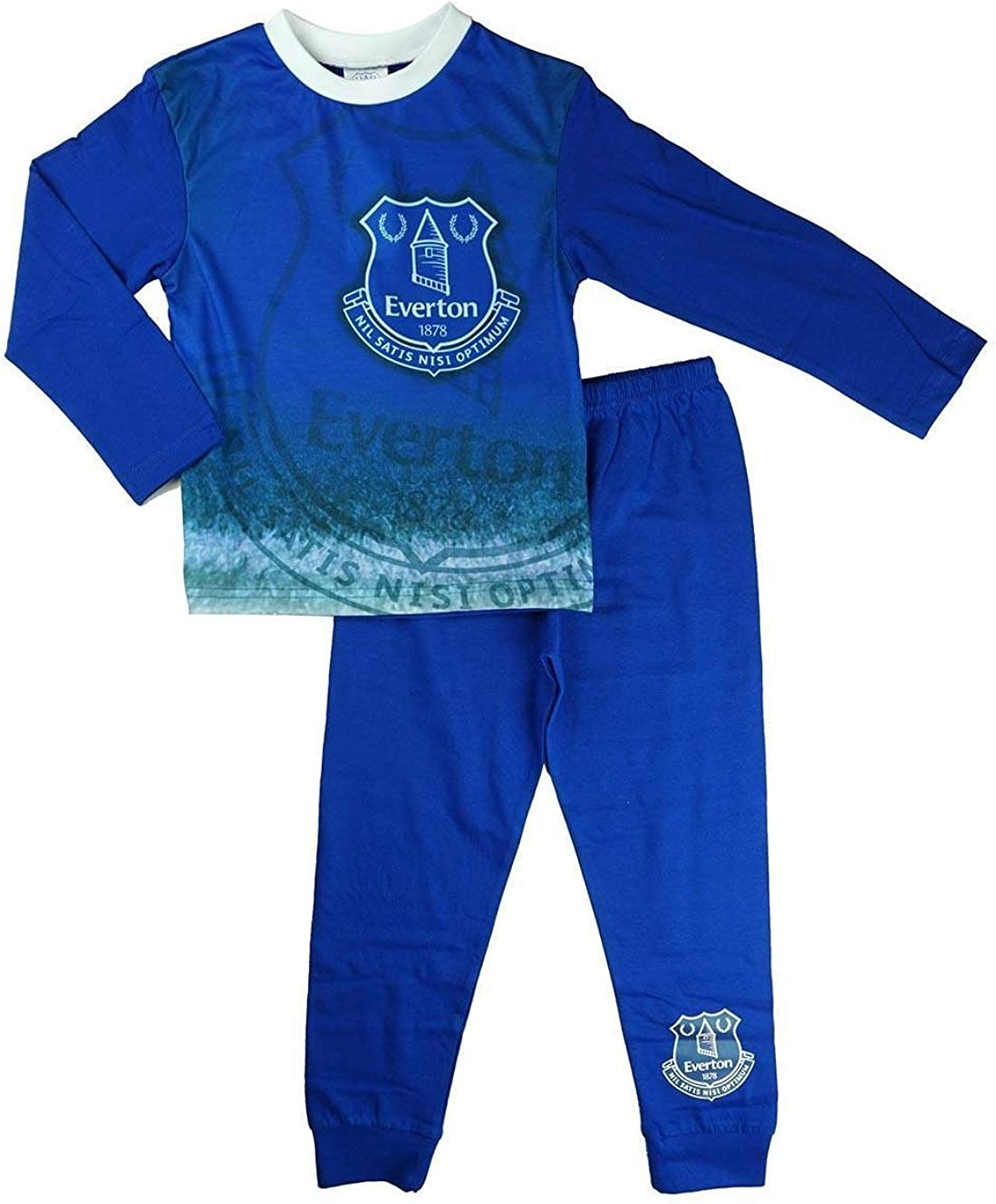 Everton FC Official Soccer Gift Boys Short Pajamas