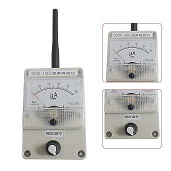 Medidor de nivel de campo 100 K-1000 MHz + antena medidor de ...
