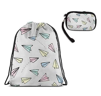 4d7dd139a06b Amazon.com: WONDERMAKE Wrist Strap Portable Purse Bags and Rucksack ...