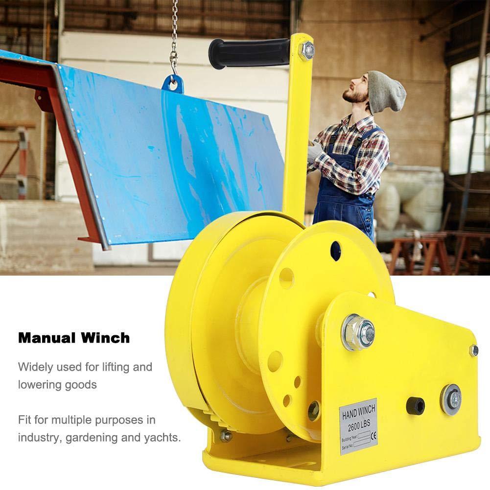Winch,Self-Locking Winch,Metal Manua Winch,Self-Locking Winch Hand ...