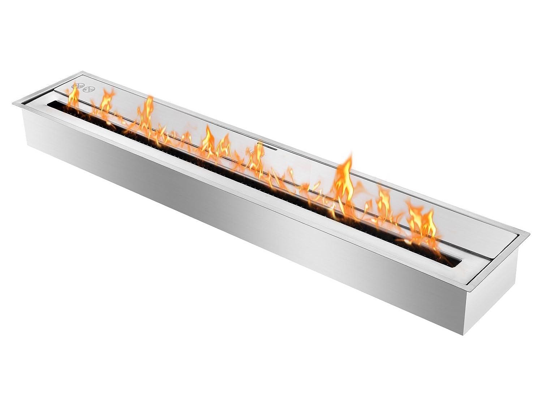 amazoncom ehb4400 eco hybrid bio ethanol burner ventless ethanol burner insert home u0026 kitchen - Ethanol Fireplace Insert