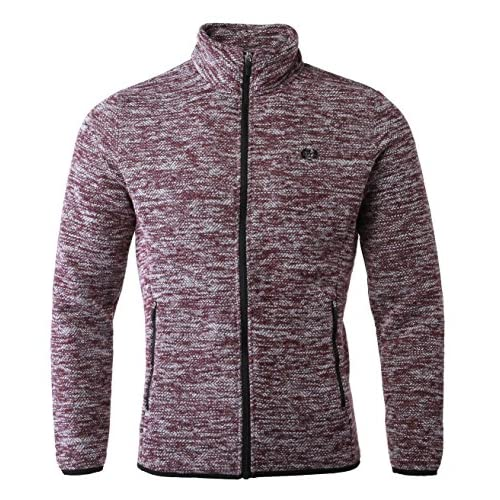 David.Ann Men s Stand Collar Zip Full Fleece Jacket outlet - www ... 668c132af