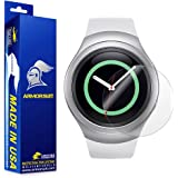ArmorSuit MilitaryShield - Samsung Gear S2 Smartwatch Screen Protector [2-Pack] Anti-Bubble and Extream Clarity HD Shield with Lifetime Replacements