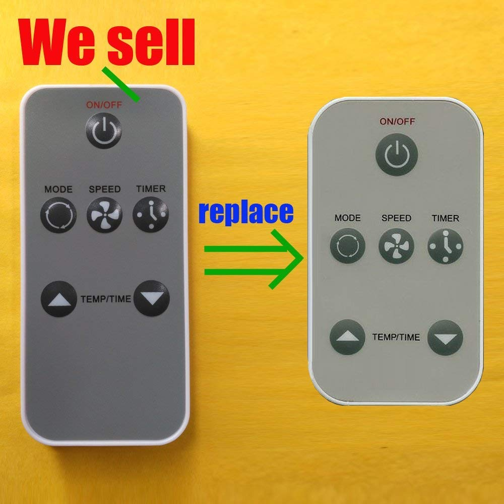 Replacement for Haier Air Conditioner Remote Control 0010403473 Works for HWR08XC5-T HWR08XC7-T HWR08XCJ HWR10XC5 HWR10XC5-T HWR10XC6 HWR10XC6-T HWR10XCJ HWR12XC5 HWR12XC8 HWR12XCJ by Generic (Image #1)
