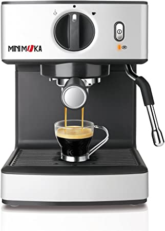 Mini Moka CM 1866 999.313 Cafetera, 1250 W, 1 cups, 0 Decibeles, Acero inoxidable, Plateado: Amazon.es: Hogar