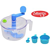 Slings One Stop Shop Dough/Atta Maker Must For Every Kitchen, Blue