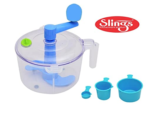 5. Slings One Stop Shop Dough/Atta Maker Must For Every Kitchen, Blue