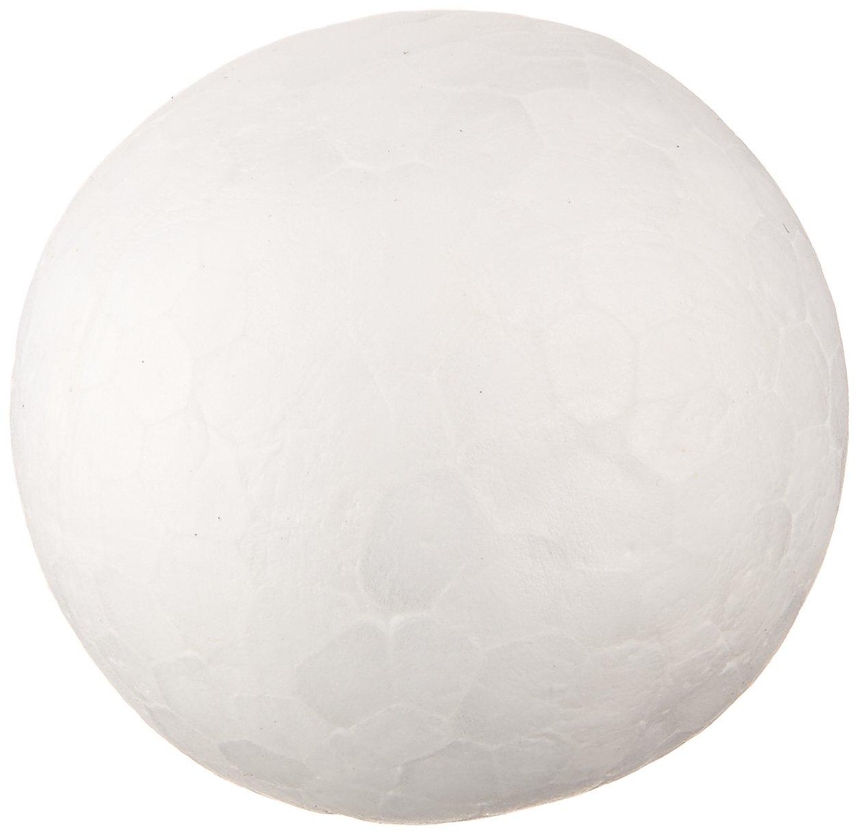 1-Inch White Darice 01252P 12-Piece Dura Foam Balls