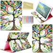 Tab S 10.5 (T800) Case, Dteck(TM) Stylish Protective Flip Folio PU Leather Smart Stand Case for Samsung Galaxy Tab S 10.5 T800 (Lucky Tree)