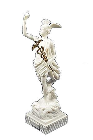 Hermes Antique Des Sculpture Grecque Dieu Messenger Estia Creations AR4qj35L