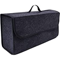 Car Storage Bag, ELECDON Car Soft Storage Box Travel Organizer Holder Backseat Car Organizer Trunk Storage Accessories…