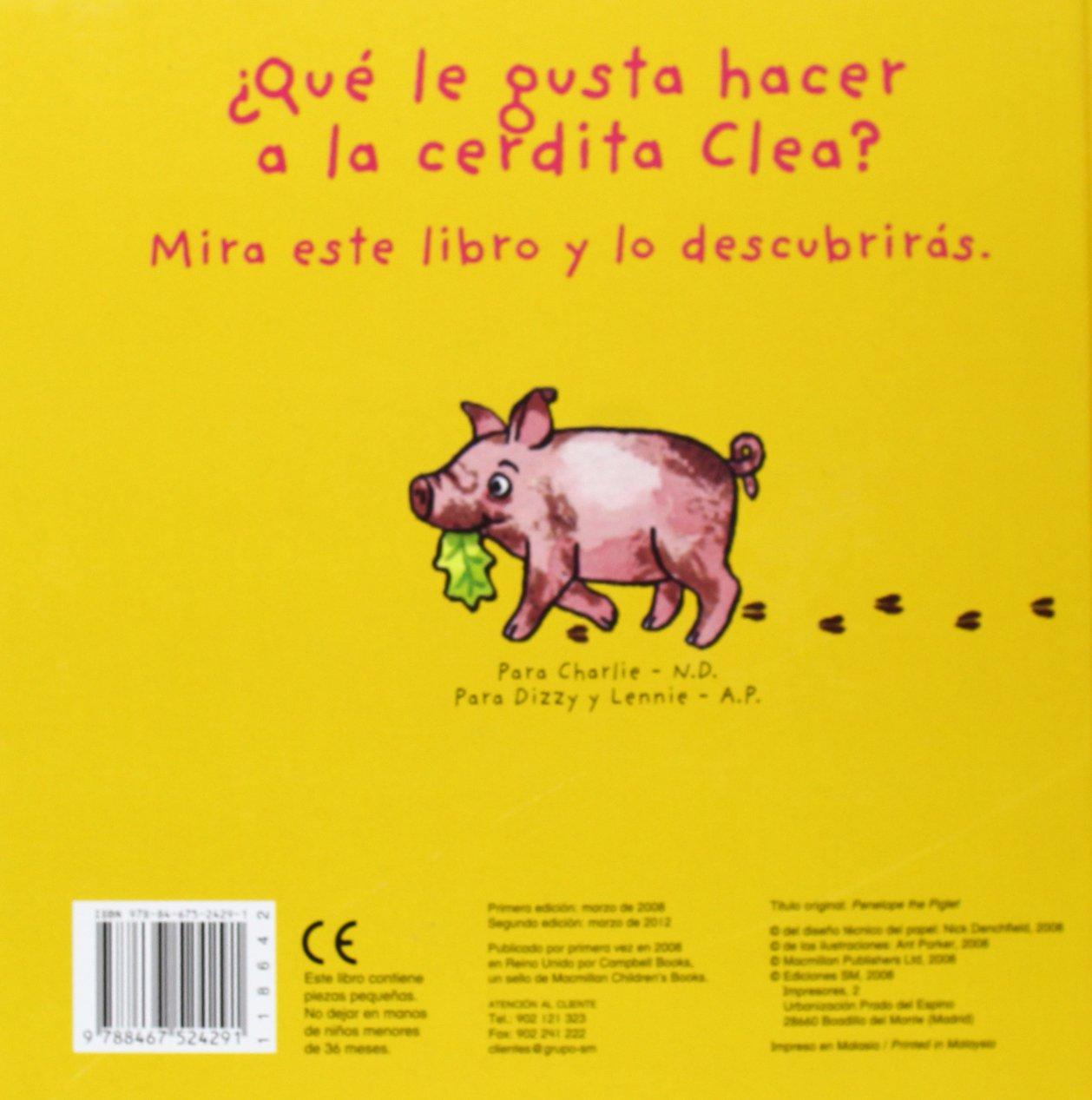La cerdita Clea (El pollo Pepe y sus amigos): Amazon.es: Nick Denchfield,  Ant Parker: Libros