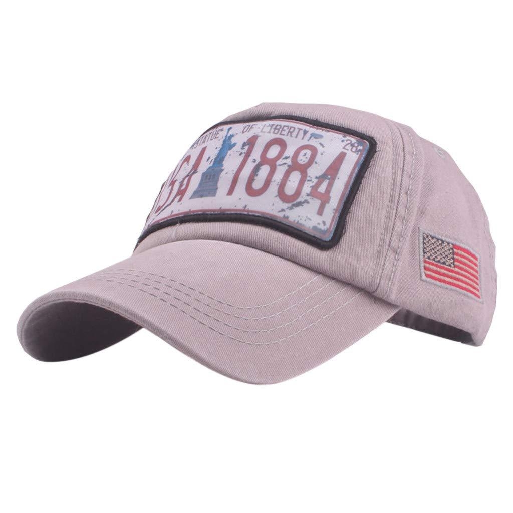 Topgrowth Cappello Cappello con Visiera Cowboy Uomo Unisex Baseball  Cappelli Sportivi Ricamo Classico Cappello Visiera Piatta Cappello (Blu)   Amazon.it  ... 99ba72cd3bad